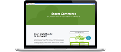 Storm Commerce - en partner till Specter AB